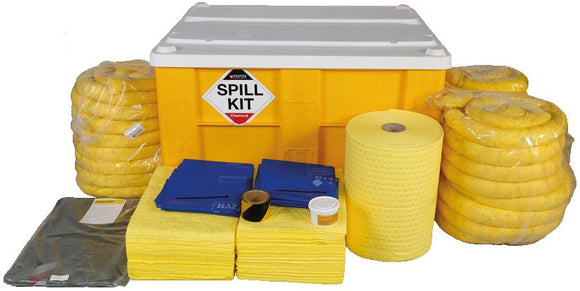 Chemical Spill Kit in Box Pallet