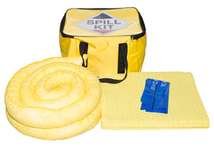 Chemical Spill Kit in Cube Bag