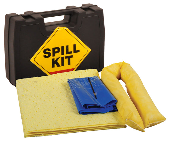 Chemical Spill Kit in Hard Carry Case