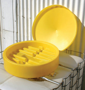 IBC Funnel with lid and debris strainer