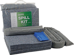 30 Litre Spill Kit in clip close bag EVO