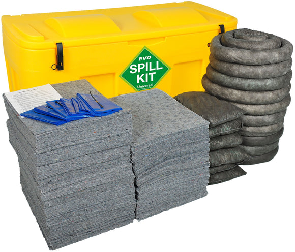 400 litre spill kit with EVO absorbents