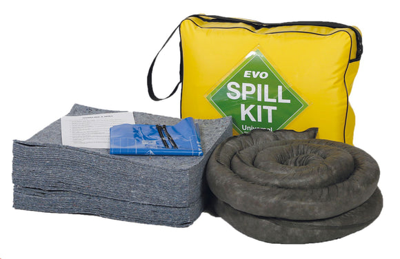 50 litre spill kit with EVO absorbents