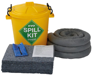 60 litre spill kit with EVO absorbents