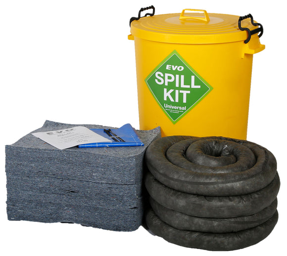 90 litre spill kit with EVO absorbents