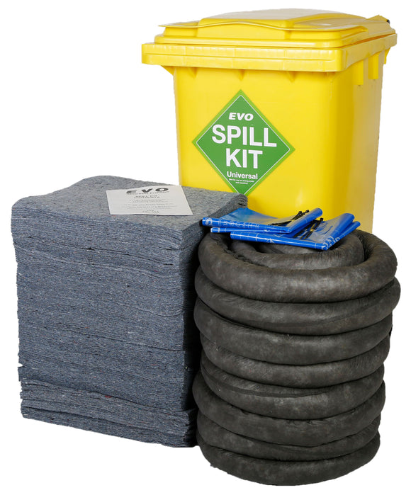 200 litre spill kit with EVO absorbents