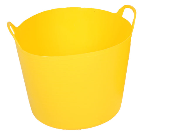 40 Litre Flexi Bucket in yellow