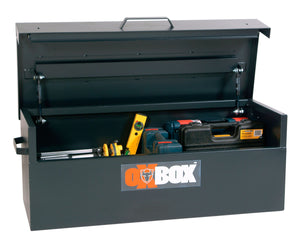 Truckbox for acids and flammable materials tool (Tools Not Included)