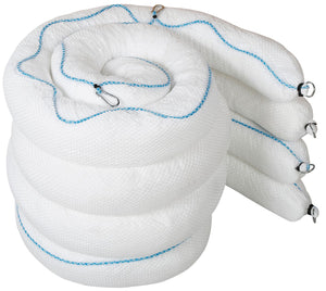 12cm x 3m, Poly Wrapped (Net, Rope, Clips & Rings) Pack of 4