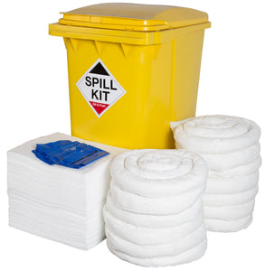 Oil & Fuel Kit - Yellow Wheelie Bin