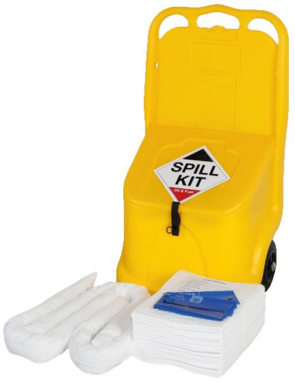 Oil & Fuel Spill Kit in Mobi Locker
