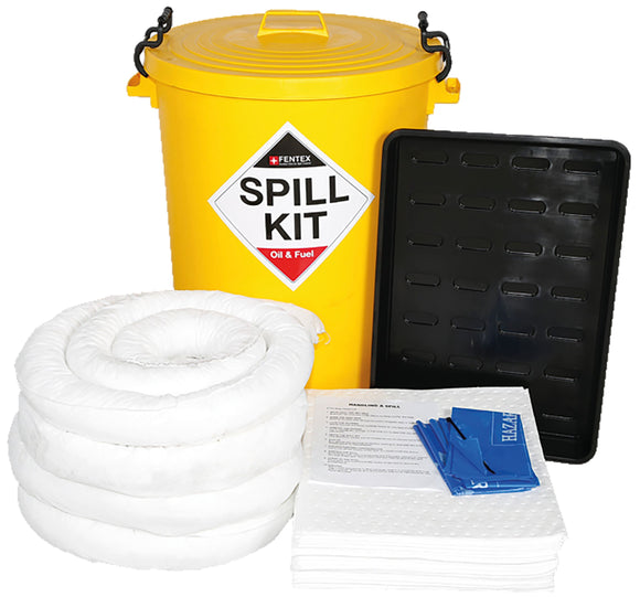 90 litre Oil & Fuel Spill Kit