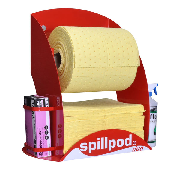 Standard contents + Quick-rip absorbent roll