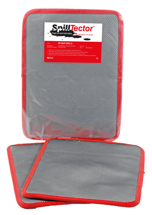 Pack of Two Small SpillTector Replacement Mats