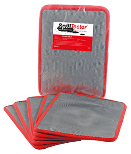 Pack of Five Small SpillTector Replacement Mats
