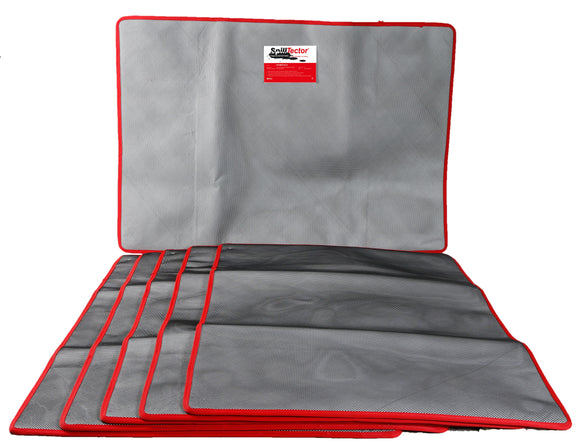 Box of Five X Large SpillTector Replacement Mats