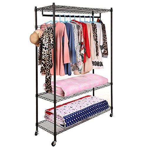 Best and Coolest 21 Closet Garment Racks