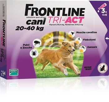 Frontline TRI-ACT Spot-on Cani 20-40 kg