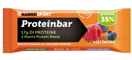 Named Proteinbar 35% Frutti di bosco