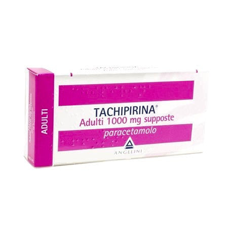 Tachipirina 1000 mg supposte ADULTI