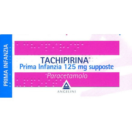 Tachipirina 125 mg supposte PRIMA INFANZIA
