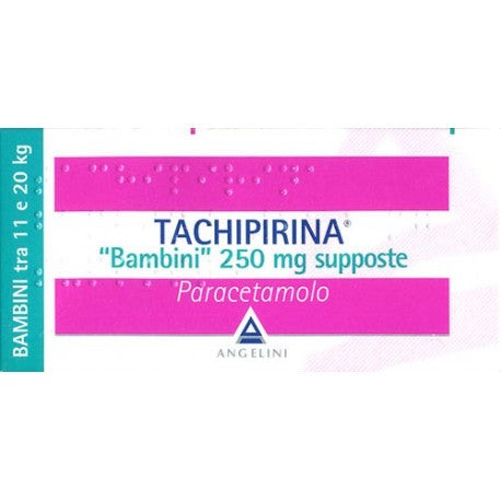 Tachipirina 250 mg supposte BAMBINI