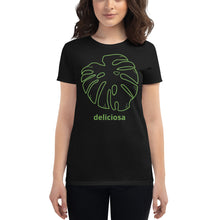 Load image into Gallery viewer, Women's Short Sleeve T-Shirt Monstera Deliciosa
