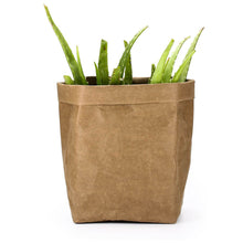 Load image into Gallery viewer, Washable Kraft Paper Plant Bags