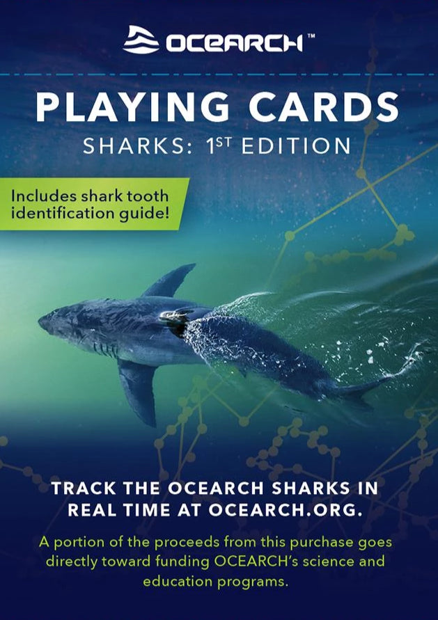 OCEARCH™ Sharks Card Deck - 1st Edition-Ocean Family Games™