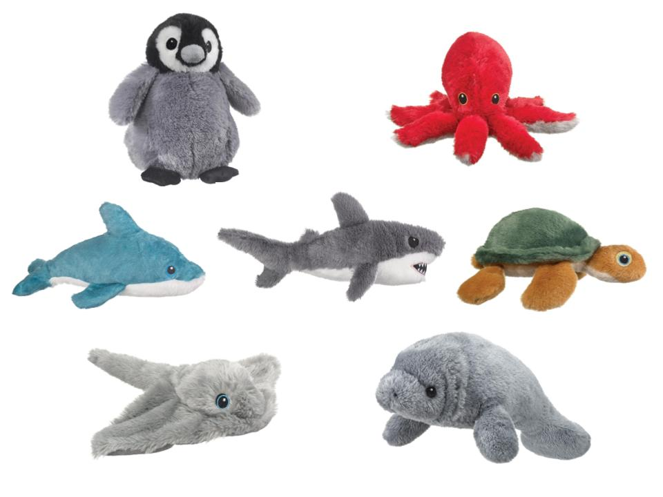 Eco Pals - Marine Animal Plush