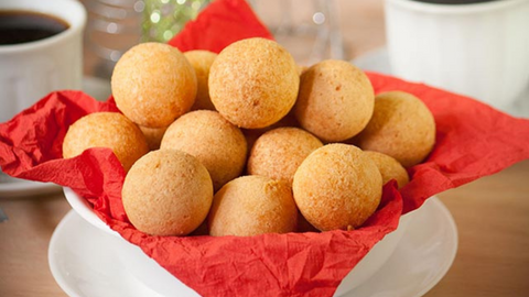 Colombian cheese bread