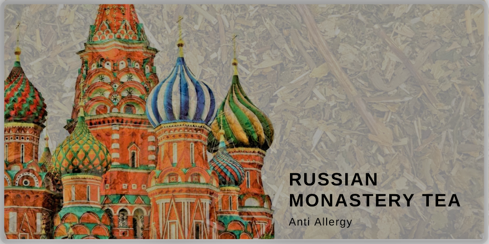Russian monastery tea collection anti allergy
