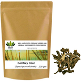 Wild Harvested Organic Comfrey Root (Symphytum officinale) Окопник корень from Altai Mountains Russia.