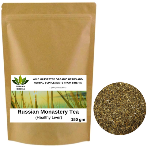 Russian Monastery Tea, Herbal Tea Collection Healthy Liver.