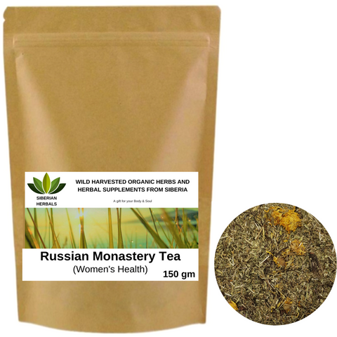 Russian Monastery Tea, Herbal Tea Collection Women's Health.