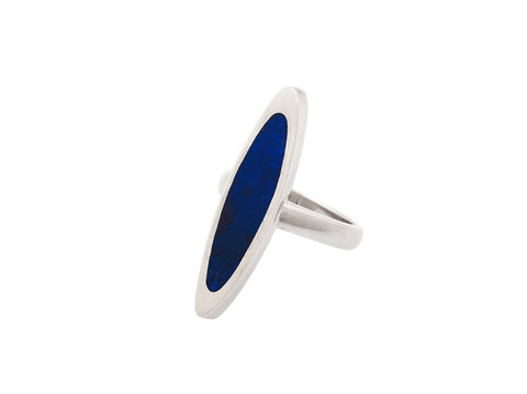 Lapis Ring - David Scott-Walker - Monkey Puzzle Jewellery