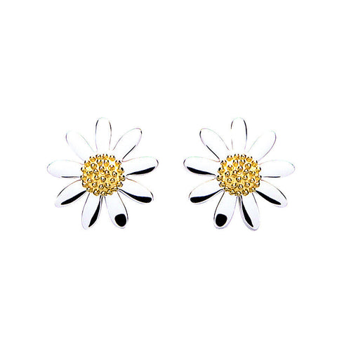 10mm Daisy studs - Daisy - Monkey Puzzle Jewellery