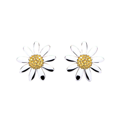 15mm Daisy Studs - Daisy - Monkey Puzzle Jewellery