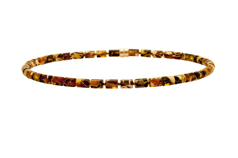 Amber Necklet - Amber - Monkey Puzzle Jewellery - 1