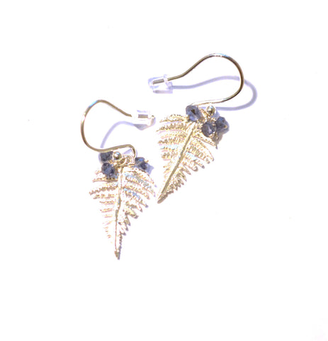 Silver Fern Leaves - Amanda coleman - Monkey Puzzle Jewellery