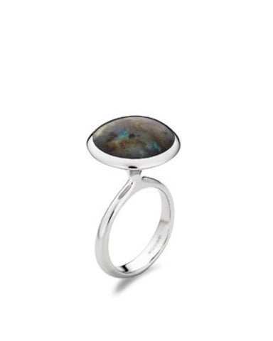 Labradorite Ring - Cornerstone Creations - Monkey Puzzle Jewellery