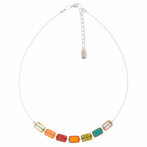 Picasso Rainbow Links Necklace