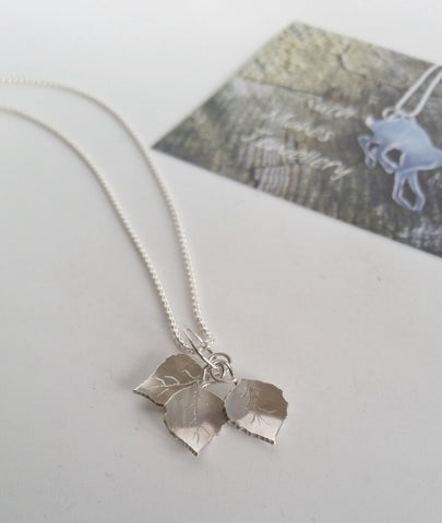 Birch Leaves Necklace