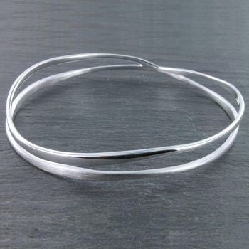 Crossroads Bangle - Reeves & Reeves - Monkey Puzzle Jewellery