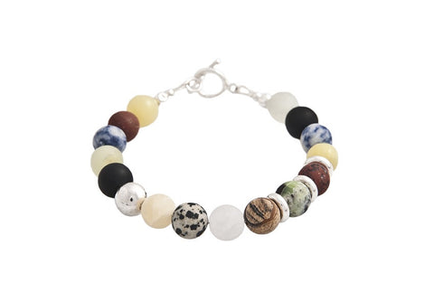 Mixed Stone Bracelet - Jan Allison - Monkey Puzzle Jewellery