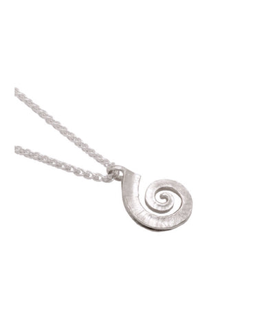 Silver Spiral Pendant ( 72-VPS-5) - Collette Waudby - Monkey Puzzle Jewellery