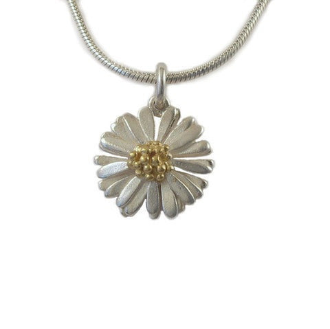 Medium Daisy Pendant - McMaster and Tingley - Monkey Puzzle Jewellery