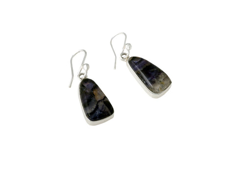 Blue John Drop Earrings