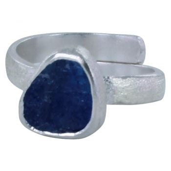 Rough Cut Tanzanite Ring