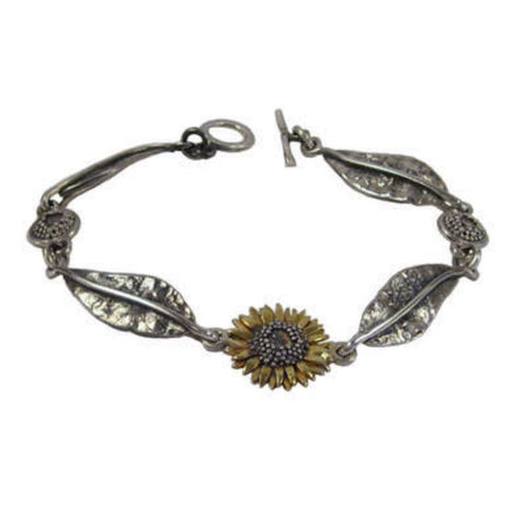 Sunflower Bracelet - McMaster and Tingley - Monkey Puzzle Jewellery